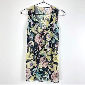 🇬🇧 CAbi Osaka Nights floral ruffle blouse / 3265
